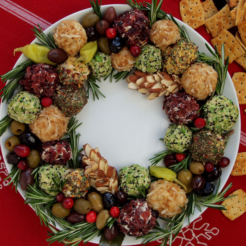 Retro Rad Holiday Cheese Plate & Retro Rad Holiday Cheese Plate Recipe | Frigo® Cheese