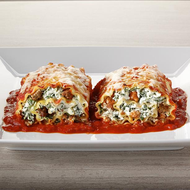 Meat Lovers Cheesy Lasagna Roll Ups Recipe Frigo Cheese